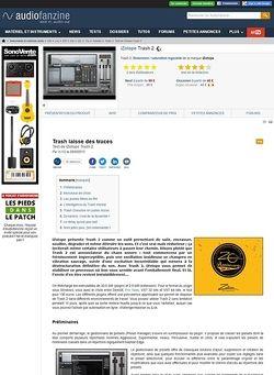 Audiofanzine.com iZotope Trash 2