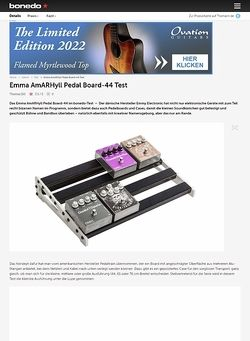 Bonedo.de Emma AmARHyll Pedal Board-44 Test