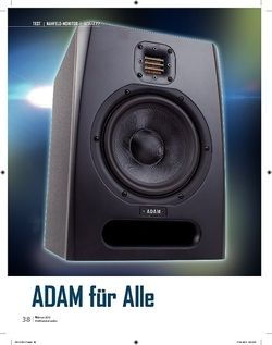 Professional Audio Adam F7