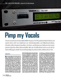 Professional Audio Tascam TA-1VP Vocal Processor