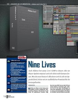 Professional Audio Ableton Live 9 Suite (Teil 1)