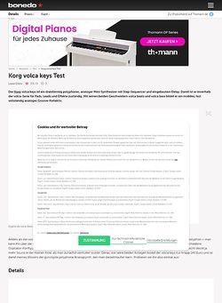 Bonedo.de Korg Volca Keys