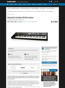 MusicRadar.com Roland V-Combo VR-09