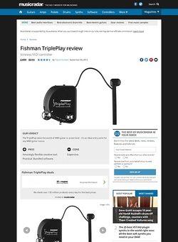 MusicRadar.com Fishman TriplePlay