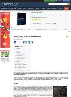 Audiofanzine.com Steinberg HALion 5