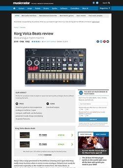 MusicRadar.com Korg Volca Beats