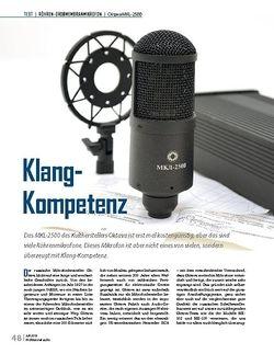 Professional Audio Oktava MKL-2500