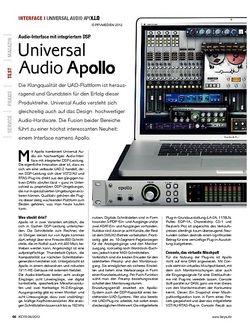 KEYS Universal Audio Apollo