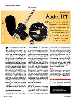 KEYS Audix TM1