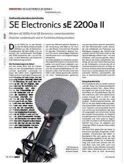 KEYS SE Electronics sE 2200a II