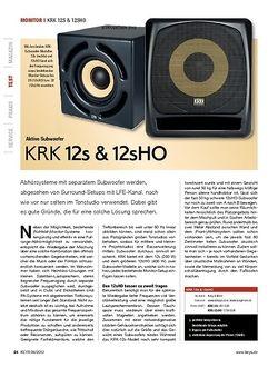 KEYS KRK 12s & 12sHO