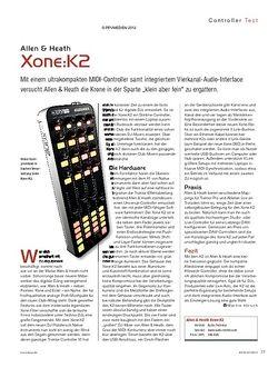 KEYS Allen & Heath Xone:K2