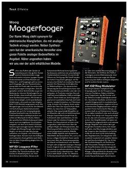KEYS Moog Moogerfooger