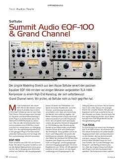 KEYS Softube Summit Audio EQF-100 & Grand Channel
