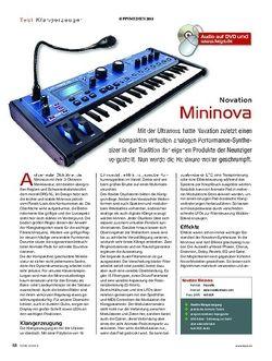 KEYS Novation Mininova