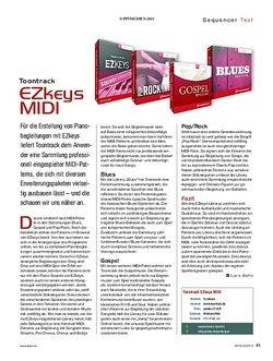 KEYS Toontrack EZkeys MIDI