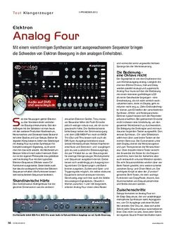 KEYS Elektron Analog Four