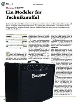 Guitar Blackstar ID:260 TVP