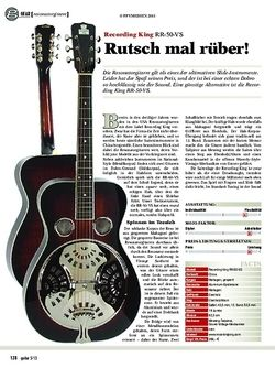 Guitar Recording King RR-50-VS