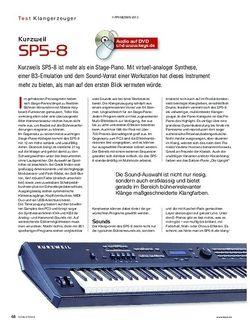 KEYS Kurzweil SP5-8