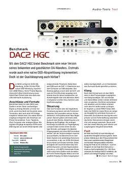 KEYS Benchmark DAC2 HGC
