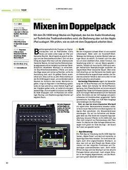 Tastenwelt Mackie DL1608 - Mixen im Doppelpack