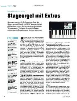 Tastenwelt Test: Hammond SK1-73 & SK1-88 - Stageorgel mit Extras