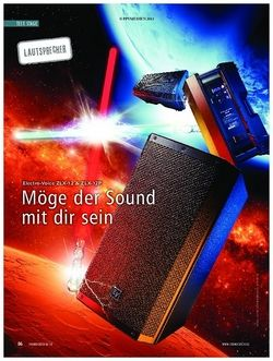 Soundcheck Electro-Voice ZLX-12 & 12P