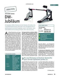 Soundcheck DW 9000 Update