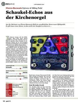 Guitar Electro-Harmonix Epitome & Talking Pedal