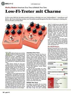 Guitar American True Tone & British True Tone