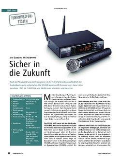 Soundcheck LD Systems WS1G8HHD