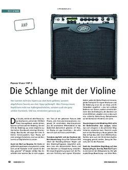 Soundcheck Gitarre: Peavy Vypyr VIP 3