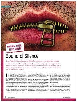 Soundcheck Maximum-Check: Sound of Silence