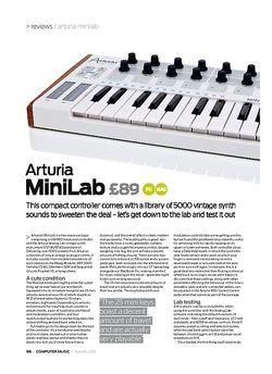 Computer Music Arturia MiniLab