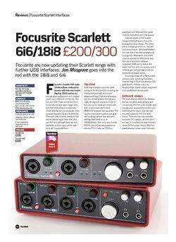 Future Music Focusrite Scarlett 6i6/18i8