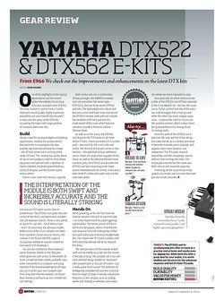 Rhythm Yamaha DTX522 & DTX562 E-Kits