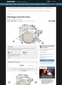 MusicRadar.com DW Design Series Kit
