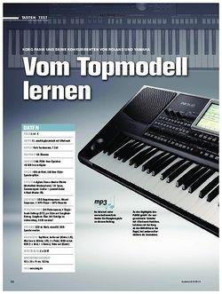 Tastenwelt Korg Pa900 und seine Konkurrenten von Roland und Yamaha