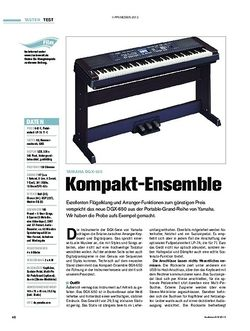 Tastenwelt Yamaha DGX-650