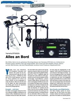 DrumHeads Yamaha DTX562k