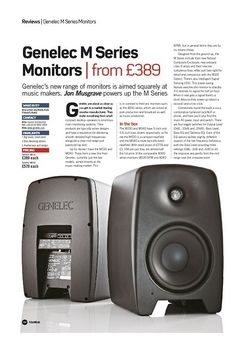 Future Music Genelec M Series Monitors