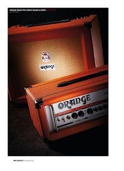 Guitarist Orange Crush Pro Series CR120H