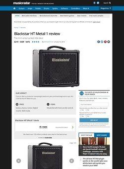 MusicRadar.com Blackstar HT Metal 1