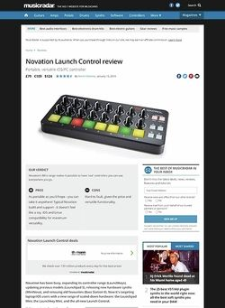 MusicRadar.com Novation Launch Control