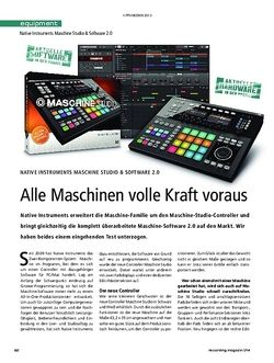 Recording Magazin Native Instruments Maschine Studio