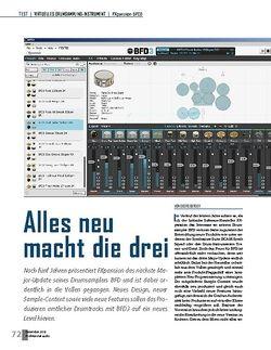 Professional Audio Alles neu macht die drei