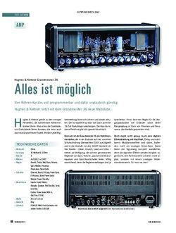 Soundcheck Test Gitarre: Hughes & Kettner Grandmeister 36