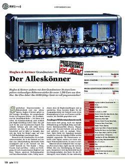 Guitar gear gitarren-amp: Hughes & Kettner Grandmeister 36