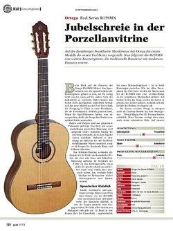 Guitar gear konzertgitarre: Ortega Feel Series R159MN